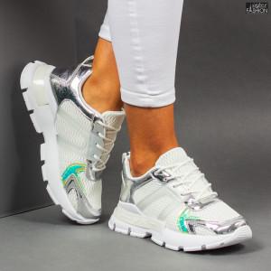 """Pantofi Sport """"Mei AN88 White"""""""