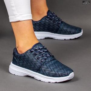 Pantofi Sport ''RED STAR Fashion 666 Black Blue'' [D17A4]