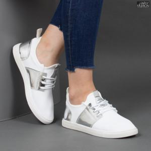 """Pantofi Sport """"Rodman AN2208 White Silver"""""""