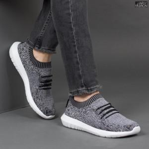 Pantofi Sport ''Taima Fashion 890-LG Grey Black White'' [S12C1]