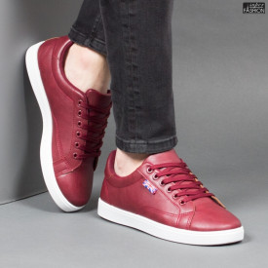 Pantofi Sport ''Veer Fashion B-1805-3 Burgundy'' [S14E2]
