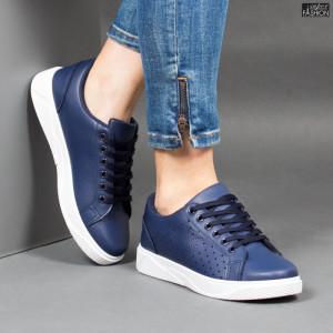 Pantofi Sport ''Veer Fashion F1826-3 Blue'' [D5C9]