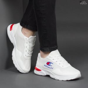 "Pantofi Sport ""WE Fashion 1901-1 White'' [S9C1]"