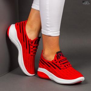"""Pantofi Sport """"Z Fashion ZA-73 Red"""" [D14D3]"""