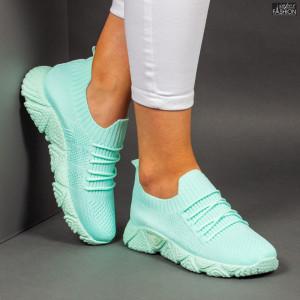 """Pantofi Sport """"Z Fashion ZA-95 Green"""" [D11D6]"""