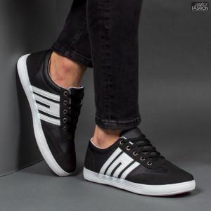 """Pantofi Sport """"ZNG Fashion 661 Black"""" [S10B4]"""