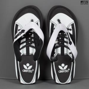 "Papuci ""Aierda 66A Black White'' [S14B7]"
