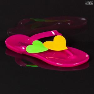 Papuci Copii ''WE Fashion 258 Fuchsia'' [D10A4]