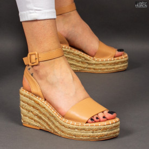 Sandale ''Bestelle Fashion JA001 Camel'' [D14E12]