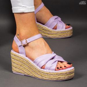 Sandale ''Bestelle Fashion JA004 Purple'' [D22E8]