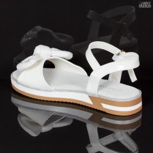 Sandale Copii ''MRS 140 White'' [D4D9]