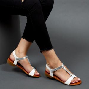 Sandale ''Mei Fashion JZF5 White'' [D18B11]