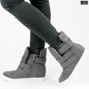 Sneakers ''ABC 1703 Grey'' [D15C4]