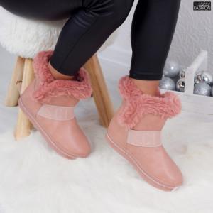 Cizme ''ABC YY-07 Pink'' [D17B11]