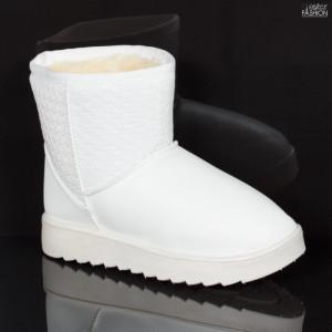"Cizme Copii ""Fashion WL-2 White"" [D23B7]"