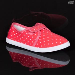 Espadrile Copii ''WE Fashion 663-1 Red'' [LC1]
