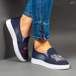 Espadrile ''WE Fashion C32 D. Blue'' [D13A3]