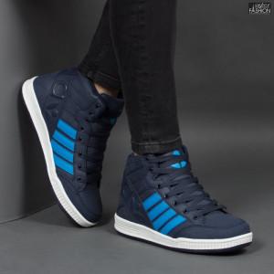 Ghete Sport ''Aierda ZL 1312-4 Dk. Blue/Lt. Blue'' [S19B12]