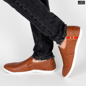Pantofi ''Classic Shoes A-002 Yellow'' [S12C2]