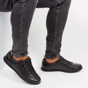 Pantofi ''Clowse 6A35-1 Black'' [S4E2]