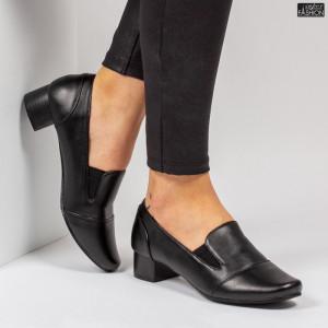 Pantofi ''Feet Fashion B03-1 Black'' [D12E2]