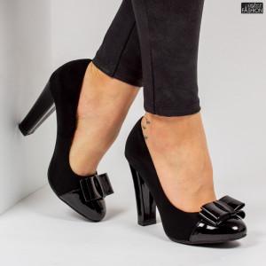 Pantofi ''Feet Fashion SH52-2 Black'' [D4D8]