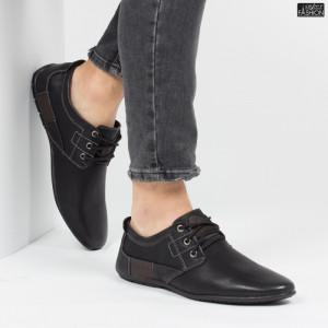Pantofi ''HeroWay A8003-7 Black''[S1C6]