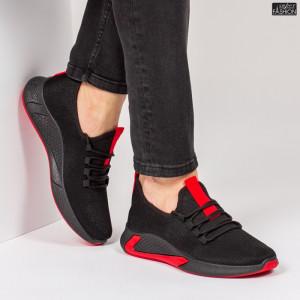 Pantofi Sport ''ABC 9081 Black Red'' [S2E4]