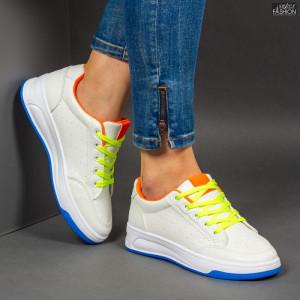 Pantofi Sport ''ABC ABC-318 White Blue'' [D5C8]