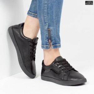 Pantofi Sport ''ALD Fashion HQ-116 Black'' [D23C4]