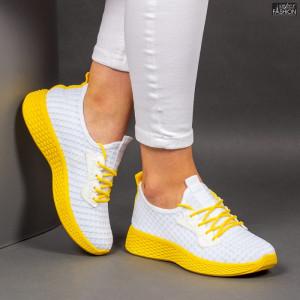 Pantofi Sport ''ALD Fashion HQ-34-161 White'' [D2E5]