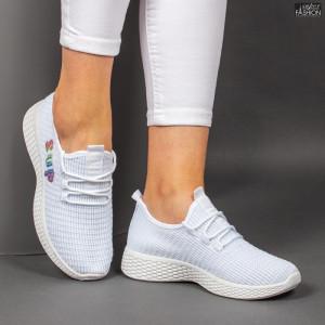 pantofi sport dama albi
