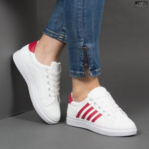 Pantofi Sport ''BAO SPORT 8001 White Red'' [D18C5]