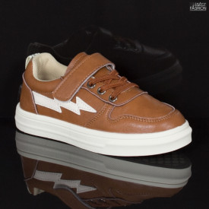 Pantofi Sport Copii ''Apawwa CC207 Brown'' [S6E4]