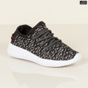 Pantofi Sport Copii ''HEROWAY 2322 Black White''
