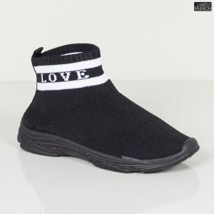 Pantofi Sport Copii ''Meek YF-102 Black'' [S10C1]