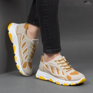 Pantofi Sport ''Fashion Balq G-002 Beige'' [S10B9]