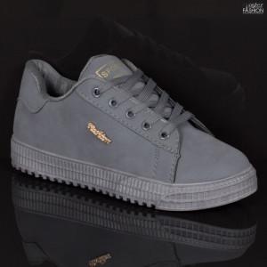 Pantofi Sport ''Fashion F-5 Grey'' [D23E9]