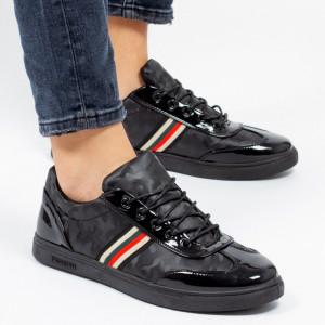 Pantofi sport ''Khatlon 811 Color Black'' [S5B1]