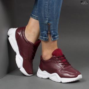 Pantofi sport ''Lavy W-6 Wine'' [D23B10]