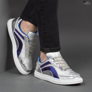 """Pantofi Sport """"Meek FX-9 Silver"""""""