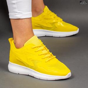 Pantofi Sport ''Mei WNH1-02 Yellow'' [D1E8]
