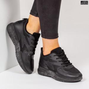 Pantofi Sport ''Mei WNH1 All Black'' [D13D1]