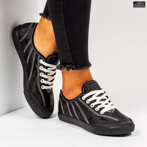 Pantofi Sport ''Roliya Fashion K608 Black''