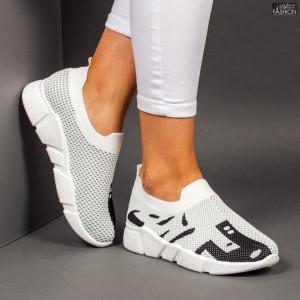 Pantofi sport ''Start 2102 White Black'' [D6D4]