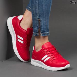 Pantofi Sport ''Veer Fashion A1816-5 Red'' [D6C3]