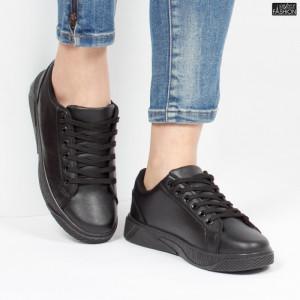 Pantofi Sport ''Veer Fashion F1826-1 Black'' [D7E7]