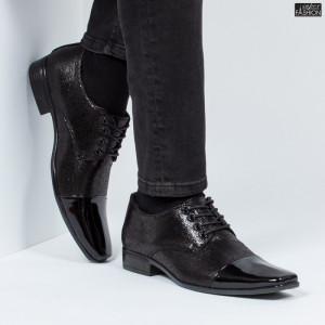 Pantofi ''WE Fashion 8868-28 Black''