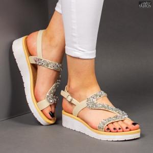 Sandale ''ALD Fashion HQ-L20093 Apricot'' [D9D9]