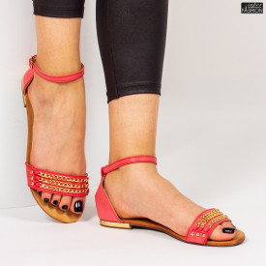 Sandale ''D.L. Fashion T-13 Red'' [D4D11]
